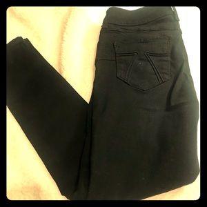Seven7 jeans black size 6